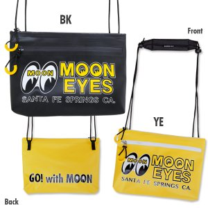 Photo2: MOONEYES Water Proof Sacoche Bag