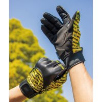 MOON Leather Mesh Glove