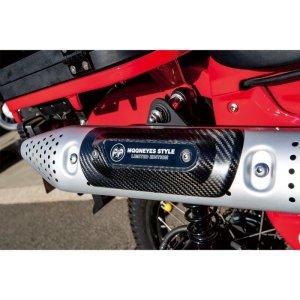 Photo1: Muffler Protector Carbon