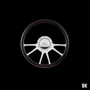 Photo1: Billet Specialties Steering Wheels Edge 35cm