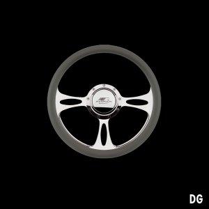 Photo4: Billet Specialties Steering Wheels Fast Lane 35cm