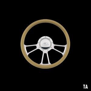 Photo2: Billet Specialties Steering Wheels Vintec 35cm