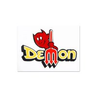 HOT ROD Sticker DEMON Decal