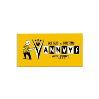 MR VANNUYS II Sticker