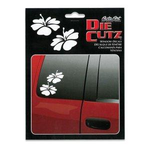Photo1: Die Cutz Decal Hibiscus