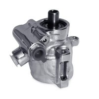 GM Type 2 Power Steering Pump  Chrome