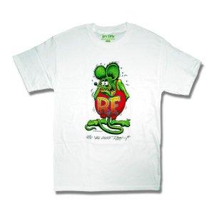 """Photo1: Rat Fink Monster T-Shirt """"Standing Rat Fink"""""""