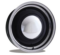 Baby MOON Special 16 Inch 6-Hole Black/Polished