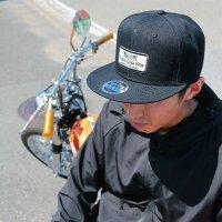 MOON Custom Cycle Shop Flat Hat Visor Cap
