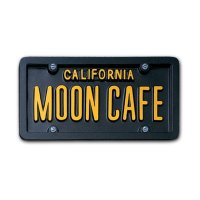 USA Custom Order License Plate - California Black