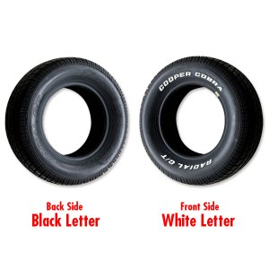 Photo1: Cooper Radial GT Raised White Letter Tire P235/60R-15