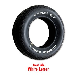 Photo2: Cooper Radial GT Raised White Letter Tire P235/60R-15