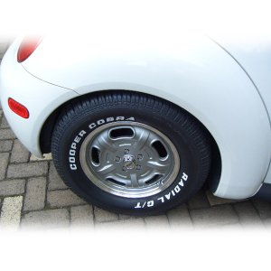 Photo4: Cooper Radial GT Raised White Letter Tire P235/60R-15