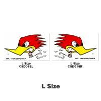 Clay Smith Sticker 28x16cm