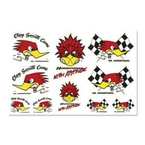 Photo1: Clay Smith Assorted Sticker Sheet