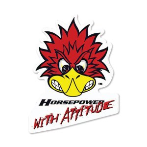 Photo1: Clay Smith Attitude Decal