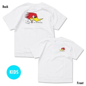 Photo1: Kids Clay Smith Traditional Design T-Shirt White