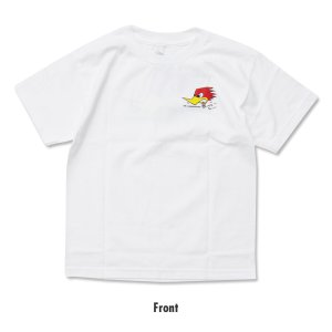 Photo2: Kids Clay Smith Traditional Design T-Shirt White