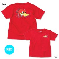 Kids Clay Smith Traditional Design T-Shirt Red