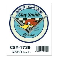 Clay Smith Decal Classic