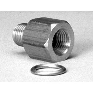 Photo1: Oil Pressure Gauge Metric Adapter 1/8 NPT→M10x1/8 BSPT