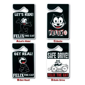 Photo1: Felix The Cat Parking Permit