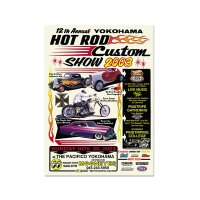 12th YOKOHAMA HOT ROD-Custom Show 2003 Poster