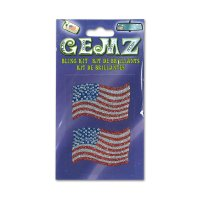 GEMZ BLING KIT Sticker Stars and Stripes