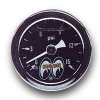MOONEYES Classic Direct Gauge Fuel Press 0-15psi