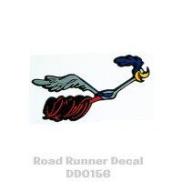 Road Runner Right Facing Decal