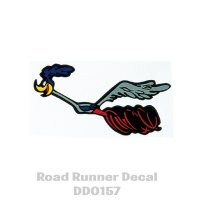 Road Runner Left Facing Decal