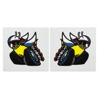 HOT ROD Sticker 70 SCAT PACK Window Bees Pair Sticker