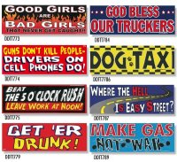 Bumper Stickers -1  (DDTT-1)