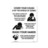 Cover Your Cough Sticker