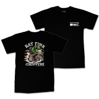 "Rat Fink Monster T-Shirt ""Rat Fink Choppers"" Black"