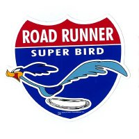 Road Runner Route RR Sticker
