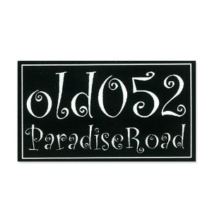 Photo1: PARADISE ROAD Old 052 Sticker