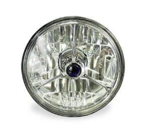 Photo1: 5 3/4in 3-pointed Diamond Headlight (Automotive)