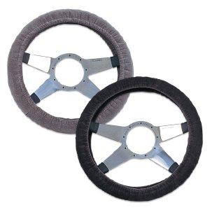 Photo1: MOONEYES Velor Steering Wheel Cover