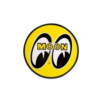 MOON EYEBALL STICKER 13cm