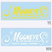 MOONEYES Logo Die Cut Sticker