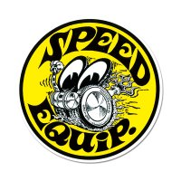 MOON Speed Equip Round Sticker