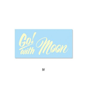 Photo5: Go with MOON Sticker