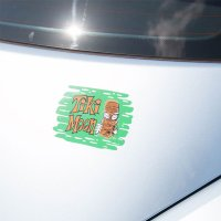 Tiki MOON Sticker