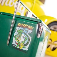 Rat Fink x MOON Fast Rat Rule Sticker