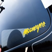 MOONEYES Sticker (Clear Type/Script Type)