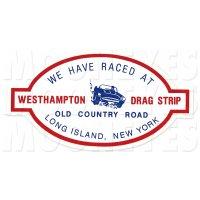 WESTHAMPTON DRAG STRIP Sticker