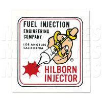 HOT ROD HILBORN INJECTOR Sticker