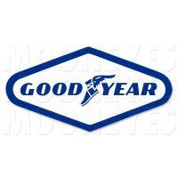 HOT ROD Sticker GOOD YEAR Sticker