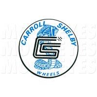 HOT ROD Sticker CARROLL SHELBY Sticker